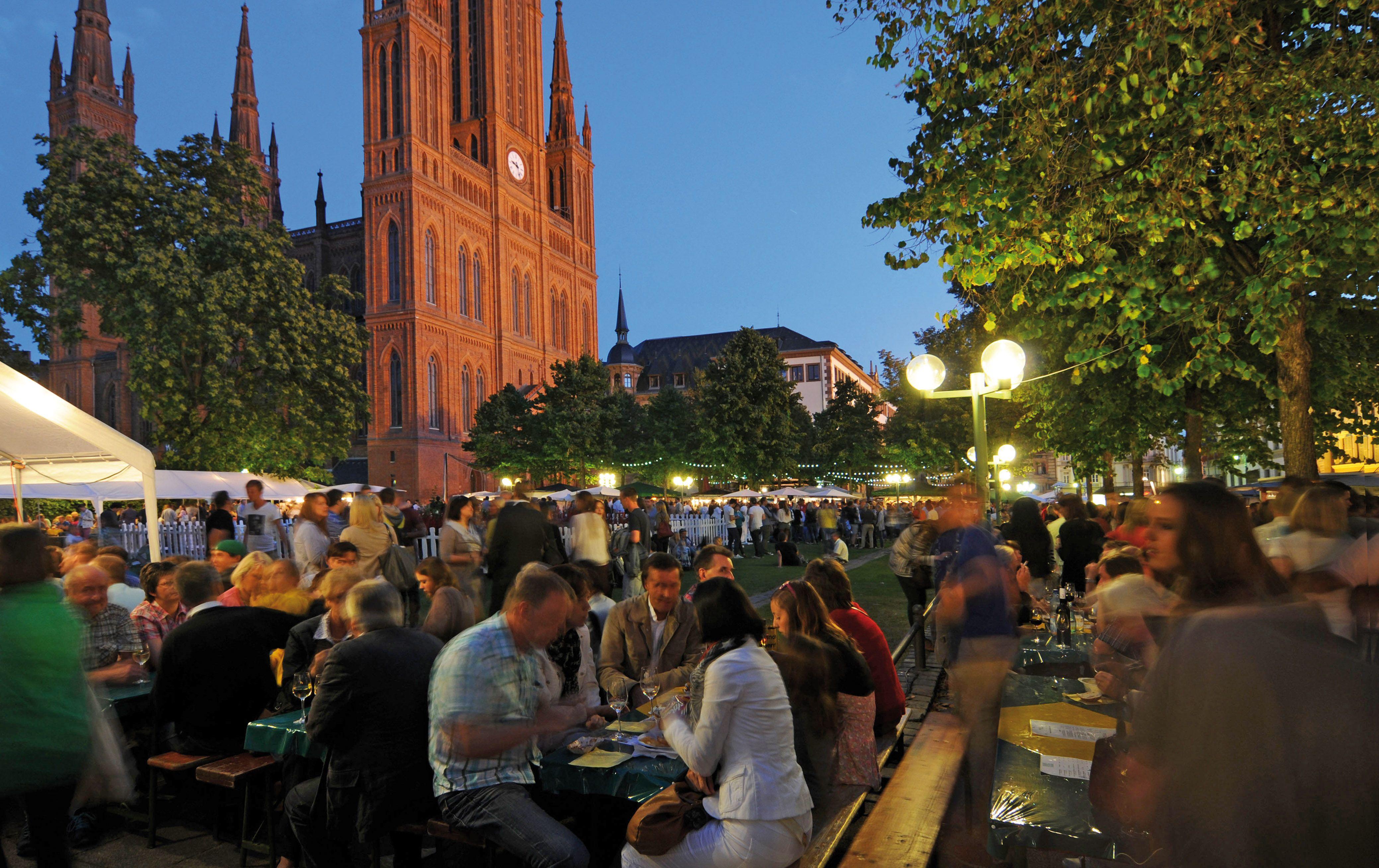 Wiesbadene Weinfest