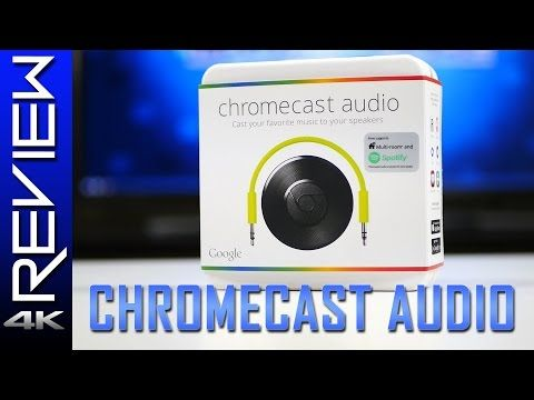 This is a quick review of the Chromecast Audio  Chromecast