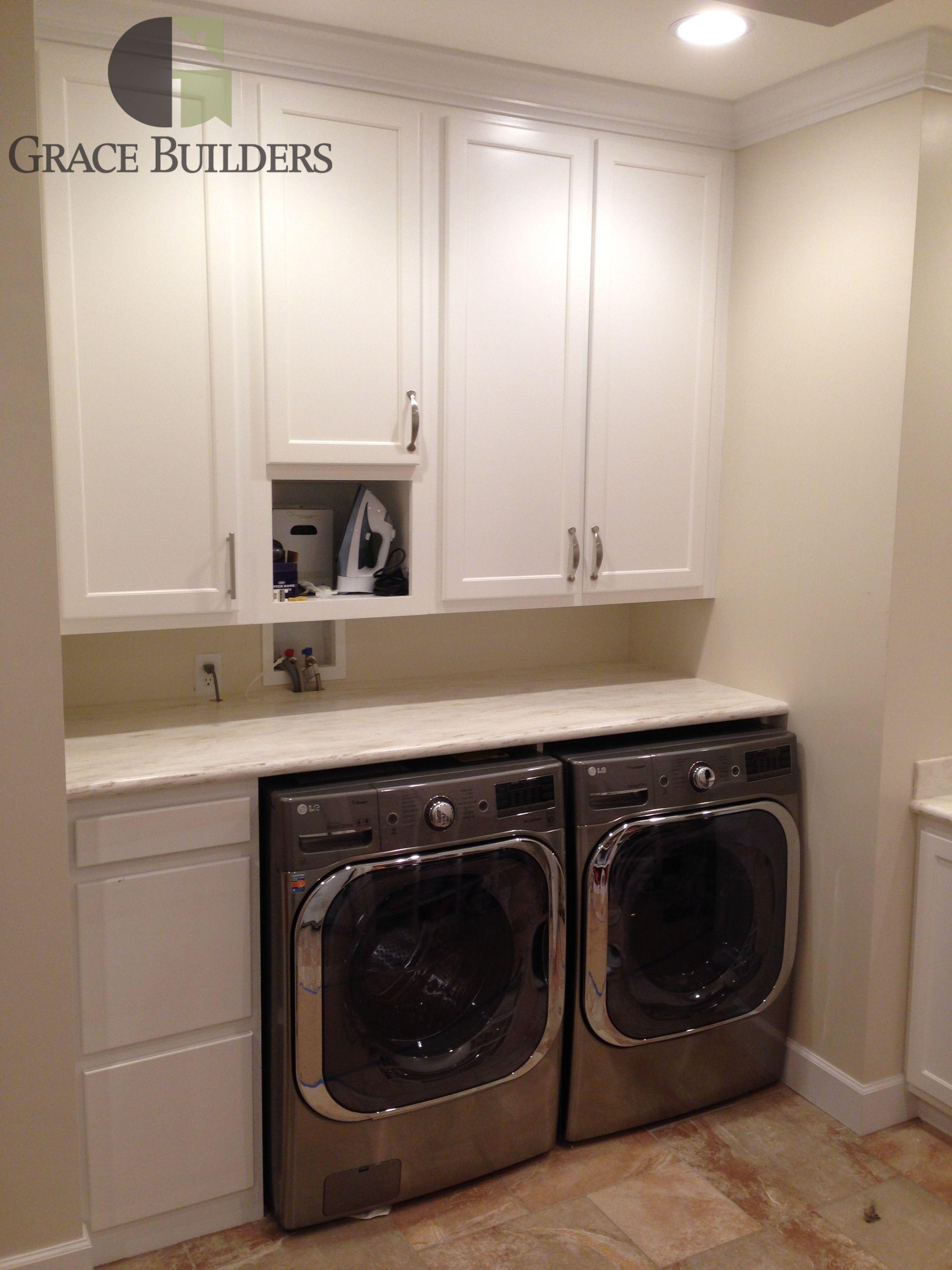 Grace builders laundry room appliances washing machine