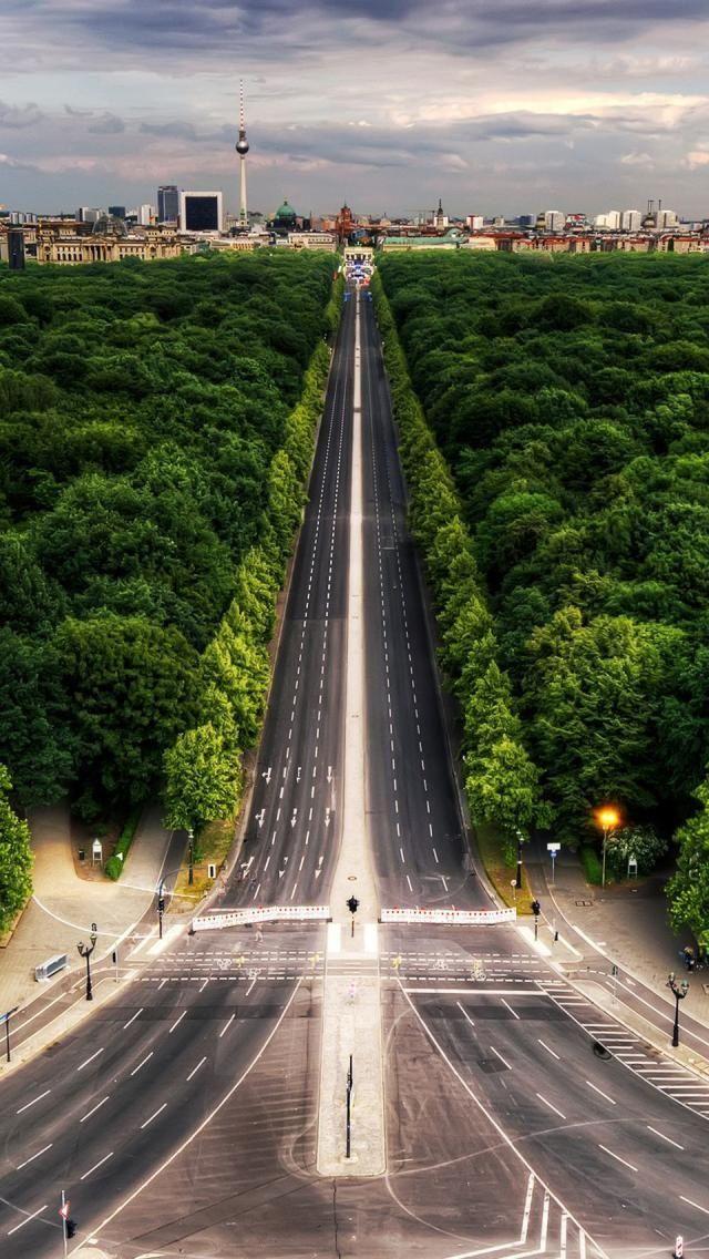 Berlin Tiergarten, Central Park of Berlin, Germany