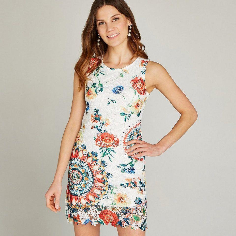 apricot etuikleid »jacquard chevron short sleeve dress« mit