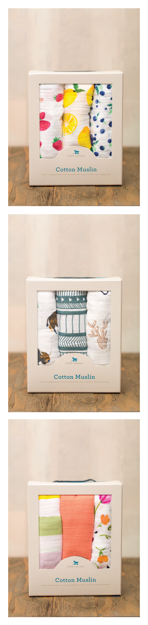 Cute and simple muslin swaddle blankets are perfect for home or cute and simple muslin swaddle blankets are perfect for home or studio newborn session little unicorn has simple and adorable patterns jeuxipadfo Gallery