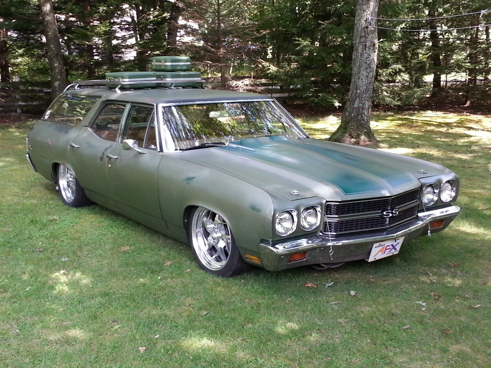 70 Chevelle Wagon Nomad Mama S Dream Wagon Chevrolet
