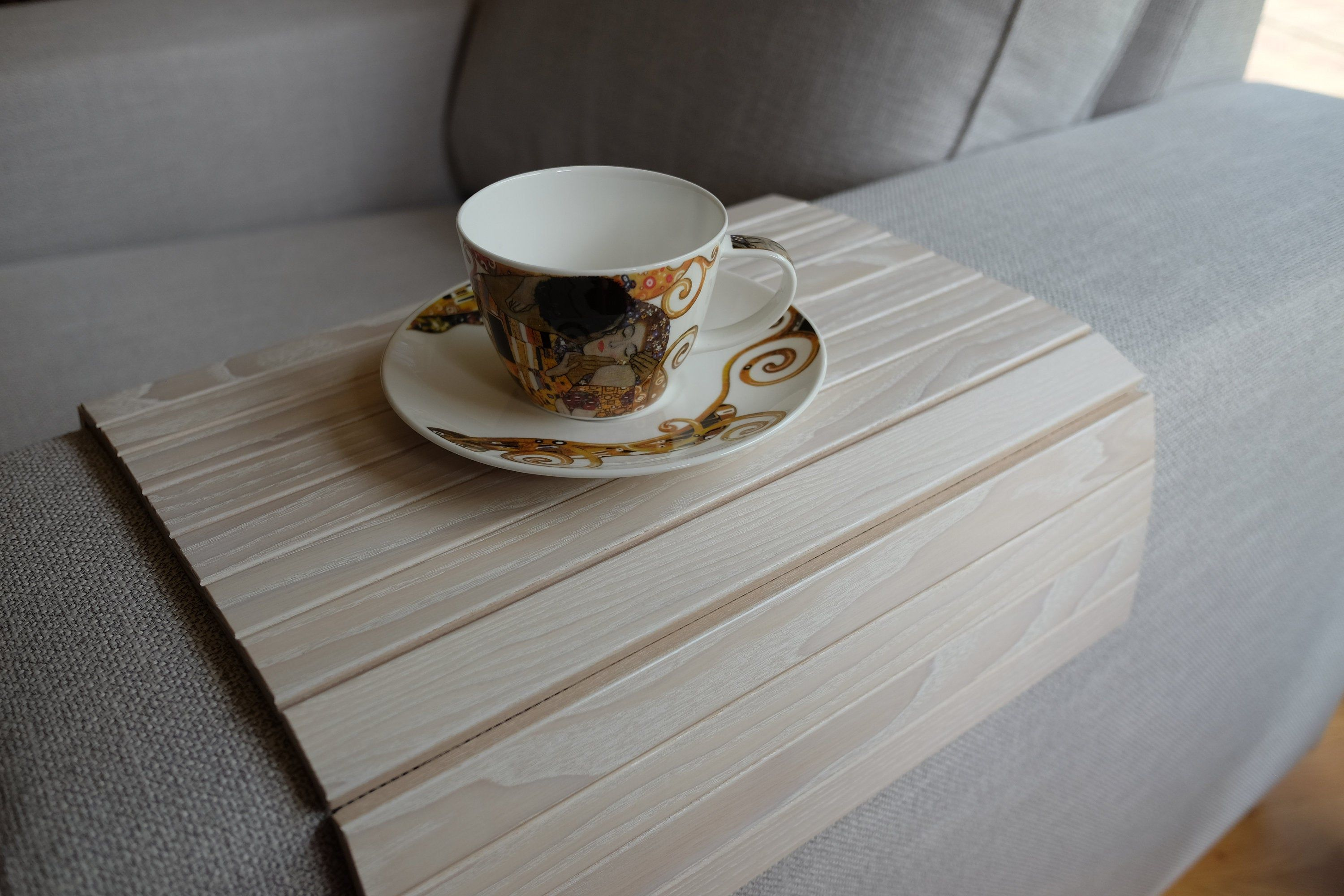 Sofa Tray Table White Tray Table Wooden Coffee Table Lap Etsy In 2020 Wooden Coffee Table Tray Table Natural Sofas