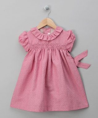 Blura Pink Flower Dress - Infant, Toddler & Girls