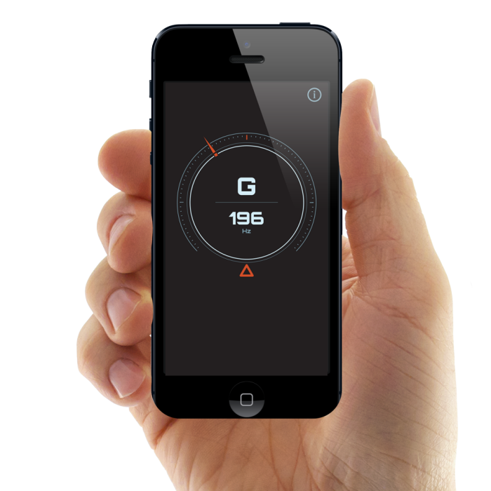 Guitar Tuner App for iPhone by Duncan McKean at Coroflot