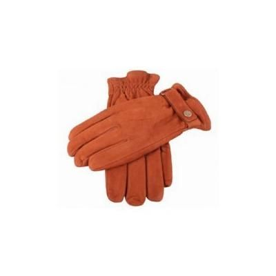 Brown Dents Mens Bark Handsewn Unlined Peccary Gloves