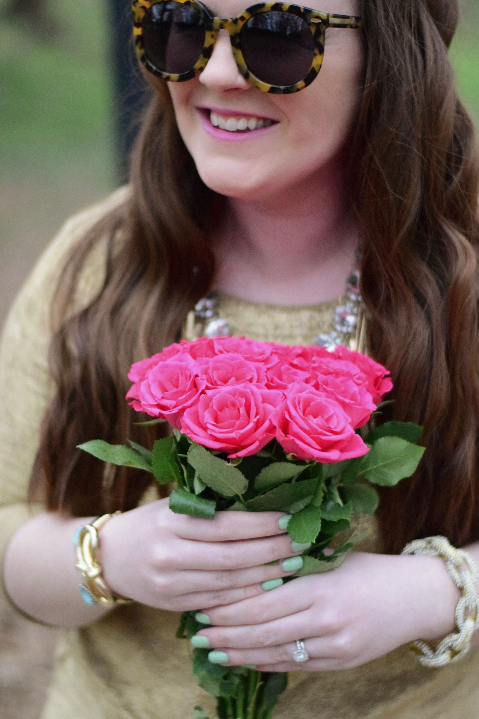 Rocksbox + Karen Walker + Roses