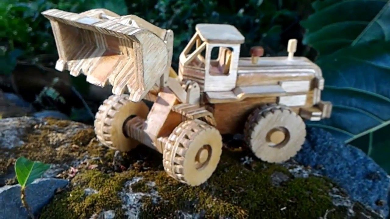 front end loader making | projects | wood toys plans, wooden