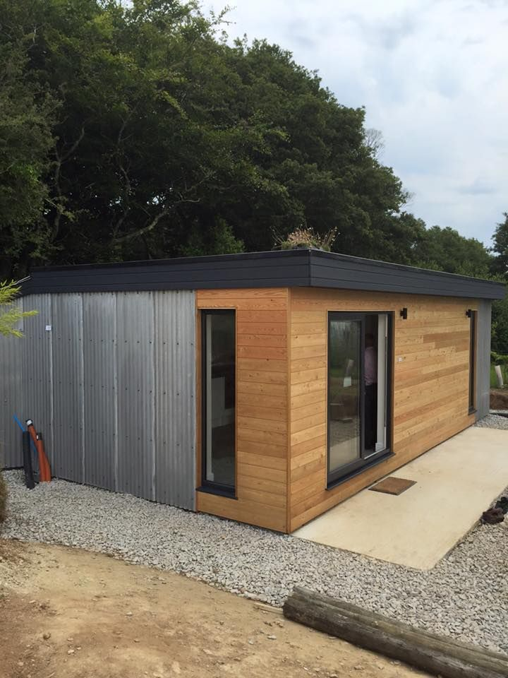 Pin by Building with Frames, Boxes & Cladding on Micro Lodge - Truro ...