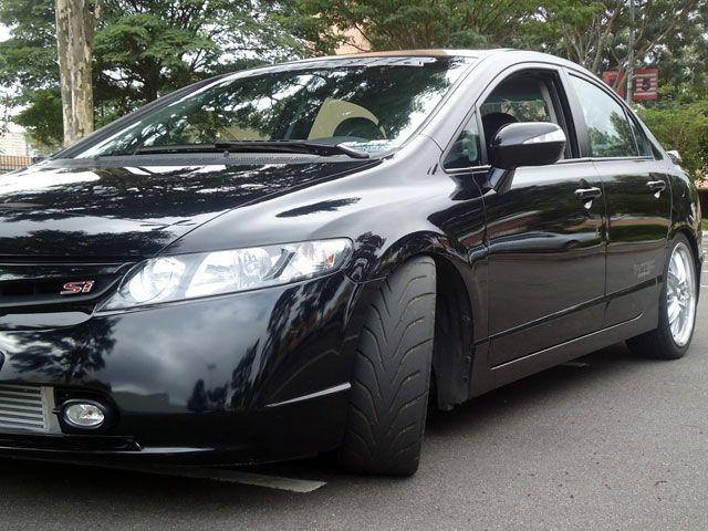 Tweet Tweet Honda Civic Si Mugen Contando Com Um Visual Arrasador E Ainda  Mais Esportivo.