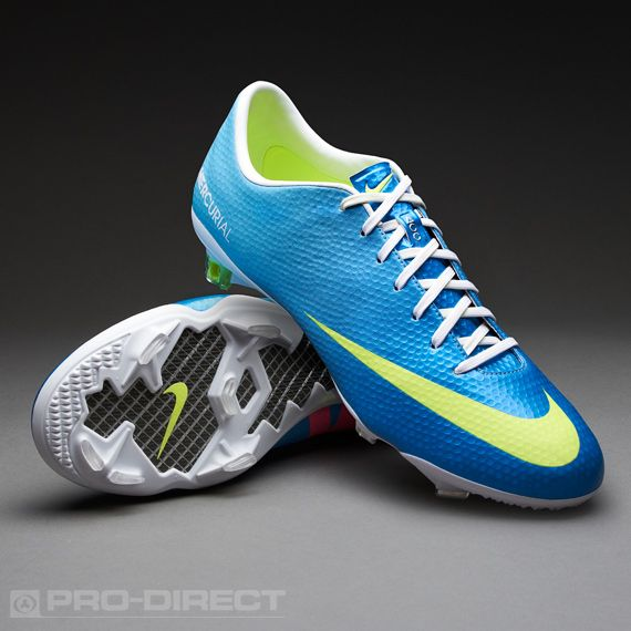 Nike Football Boots - Nike Mercurial Vapor IX FG Pro - Firm Ground - Soccer  Cleats - Neptune Blue-Volt-Tide Pool Blue  pdsmostwanted 323b8820b3