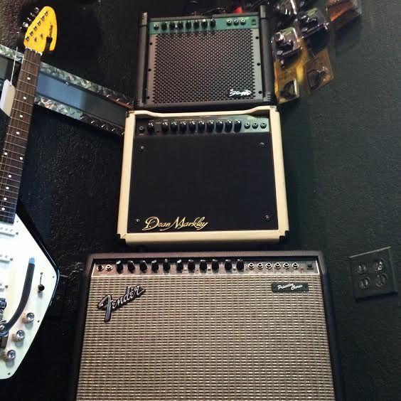Amp City! Stagg 20 GA - $89 Dean Markley DM30RC - $115 Fender