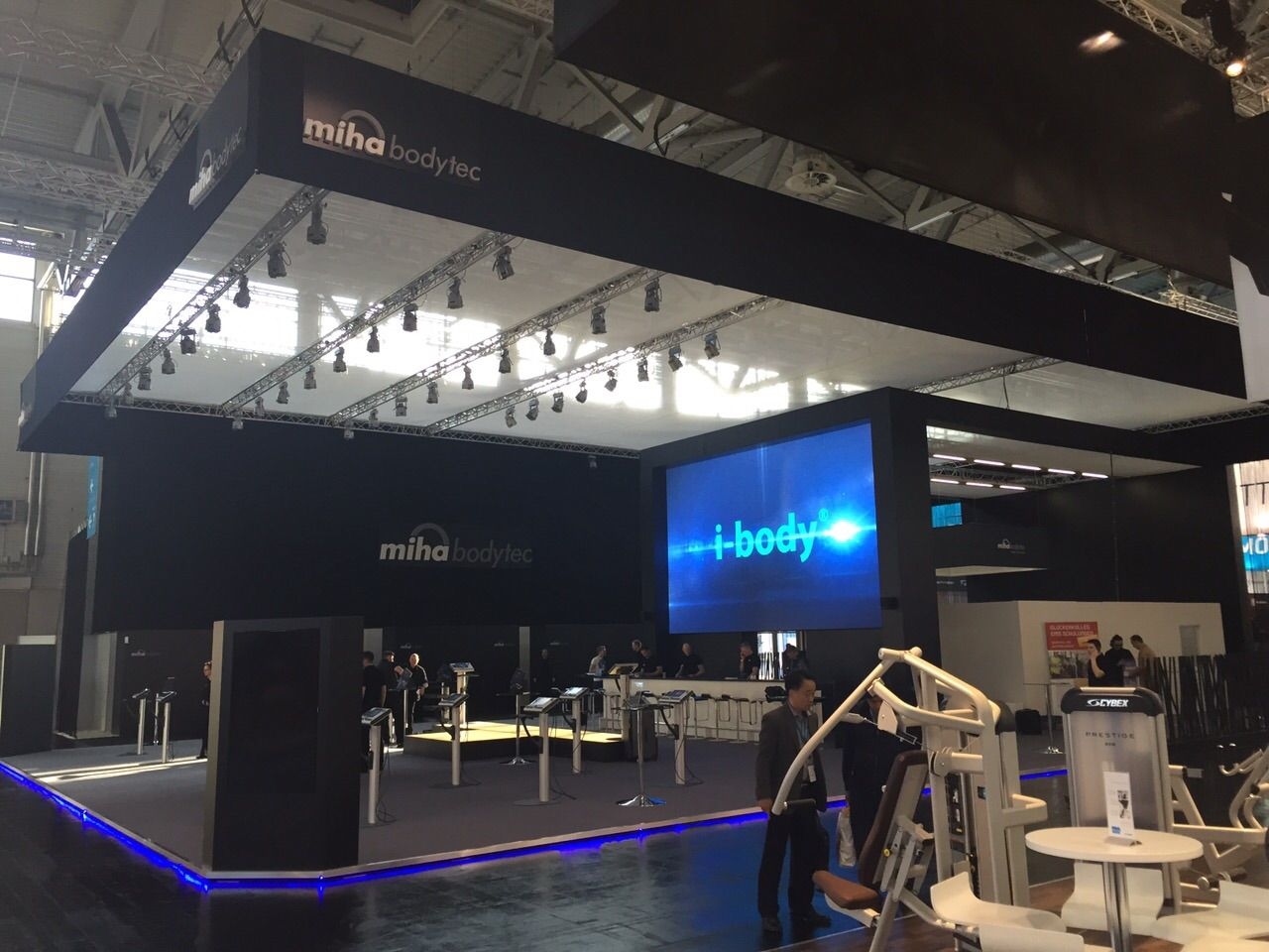 We are at FIBO fitness expo in Cologne!  Come look for us at hall 6 booth A10/B15. We are looking forward to meet you  #mihabodytec #cologne #fibo #fibo2015 #emstraining