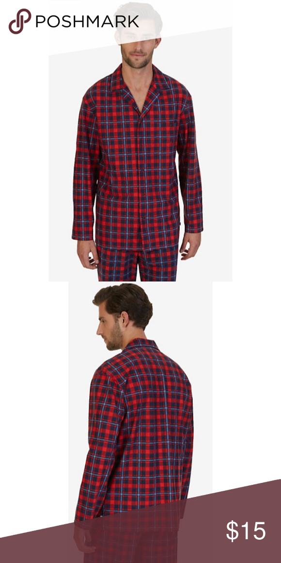 XXL Nautica Red Plaid Pajama Top The red plaid pajama top is a classic for a 1d5da86c2