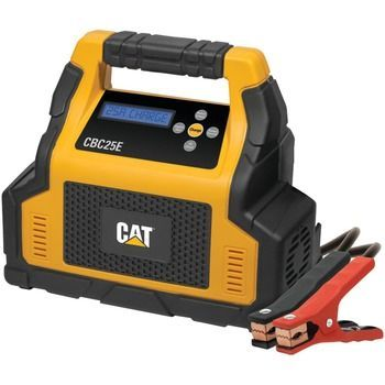 Cat 25-amp Battery Charger With 7-amp Engine Start