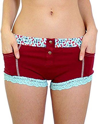 e0bd1f754a3f FOXERS Women's Boxer Brief Underwear with Pockets | Cotton Boy Shorts  Panties at Amazon Women's Clothing store: