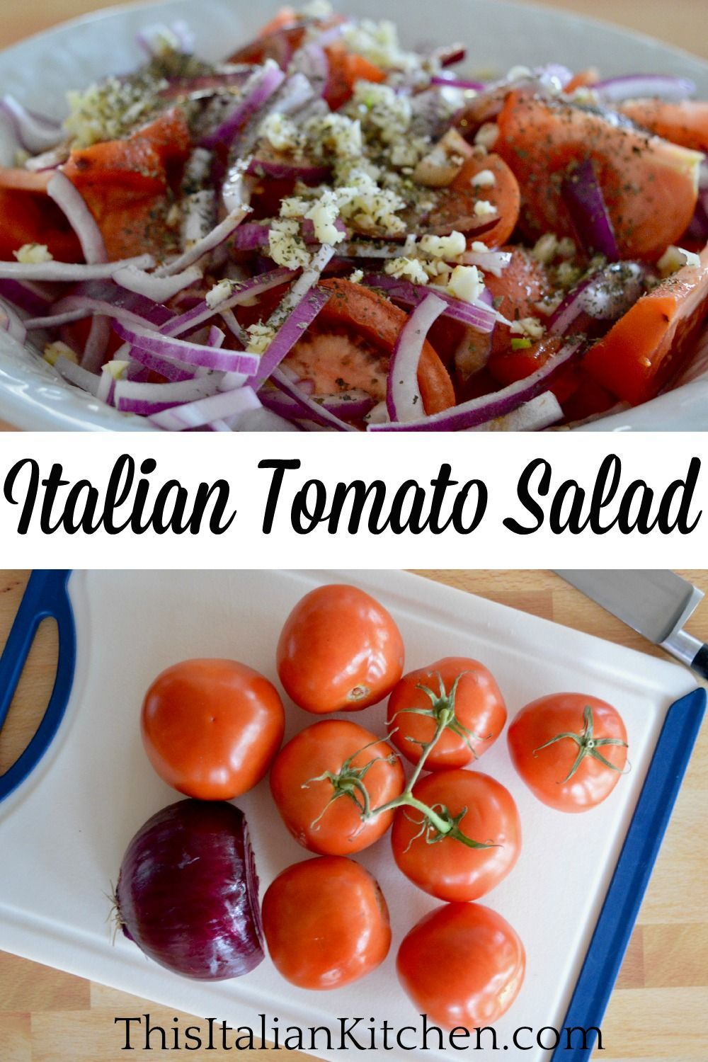 Italian Tomato Onion Salad Balsamic Vinegar This Italian Kitchen Recipe In 2020 Italian Salad Recipes Italian Breakfast Recipes Italian Meat Recipes