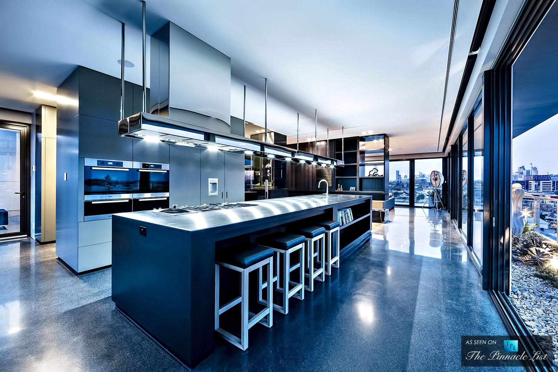Cubo Penthouse - 59 Coppin Street, Richmond, Melbourne, Victoria ...