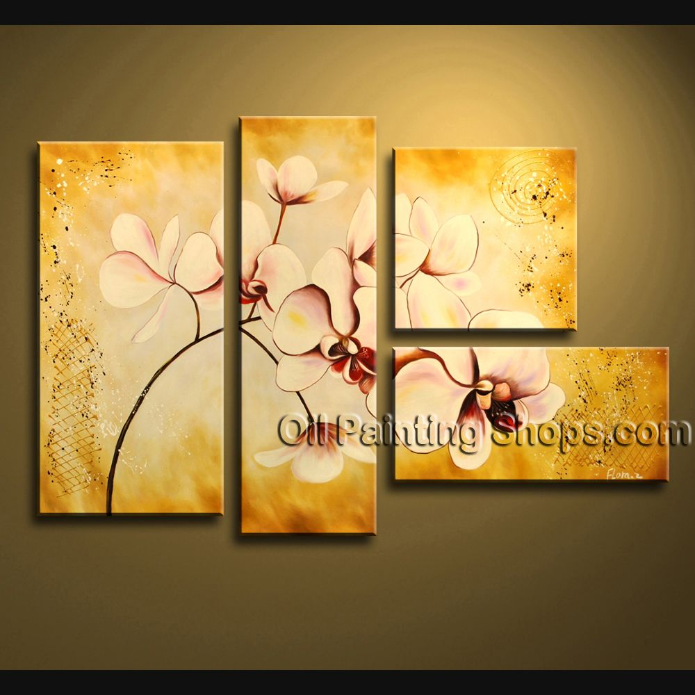 Enchanting Contemporary Wall Art Artist Oil Painting Stretched Ready ...