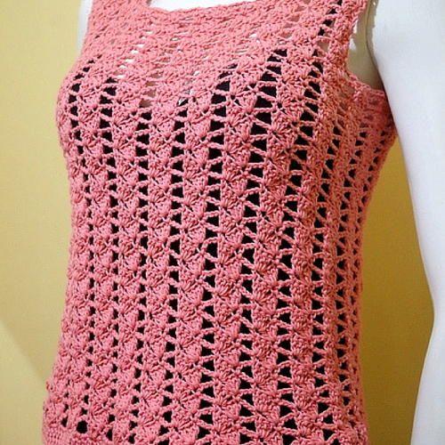 Carla Summer Top Summer Tops Crochet And Free Crochet