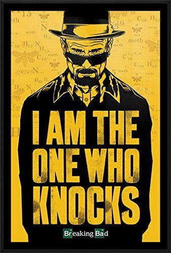 Breaking Bad Framed TV Show Poster Print Heisenberg I AM THE ONE WHO ...