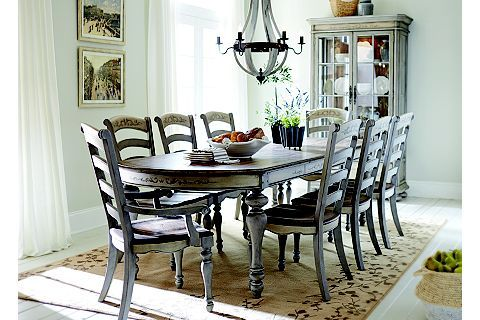 Greyfield Dining Table | Havertys | Beach House | Pinterest | Room ...