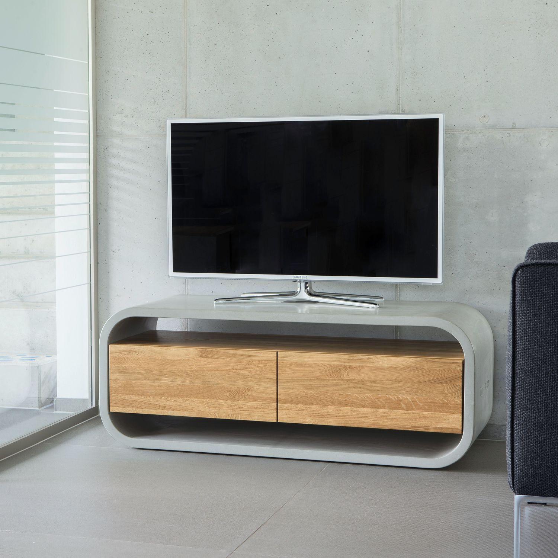 Contemporary Oak Tv Cabinet In 2020