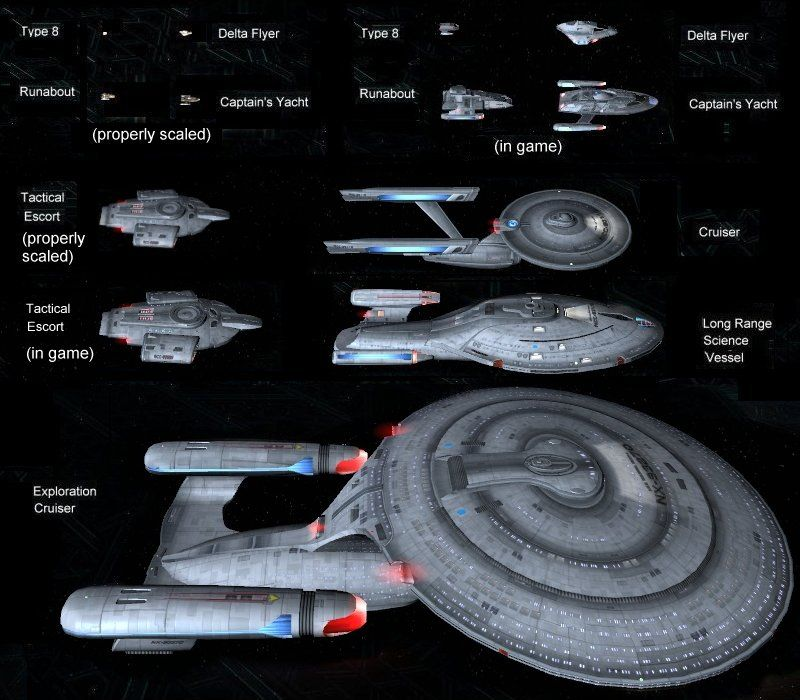 Star Trek Ship Classes | Also, for more grins, Corrected ...
