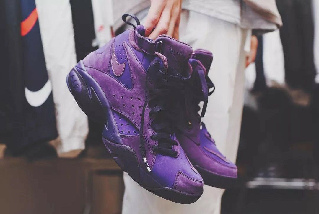RONNIE FIEG REVEALS HIS NIKE AIR MAESTRO II HIGH COLLABORATION Scottie  Pippen's former sneaker gets a