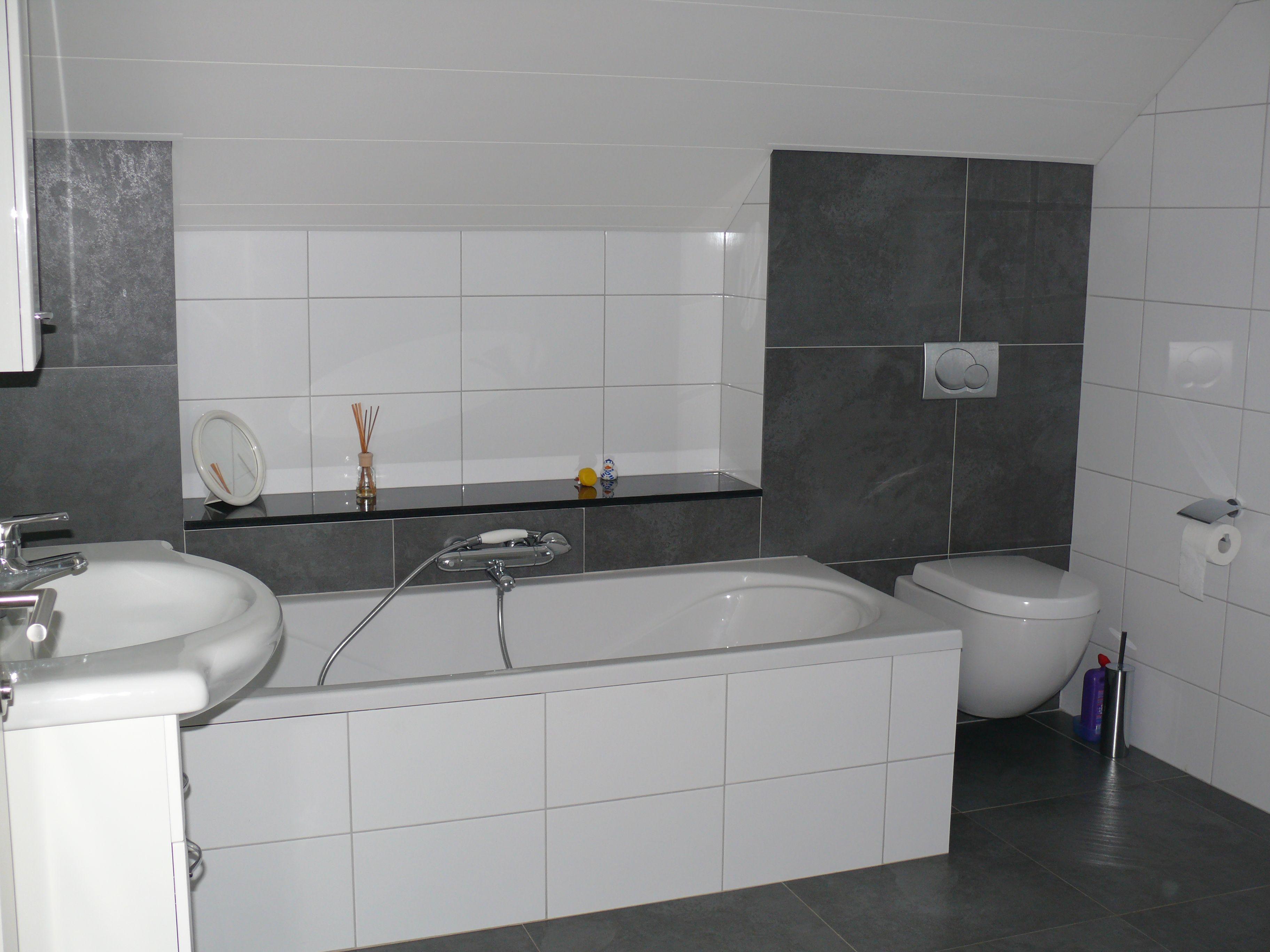 grijze voeg witte tegels - Google zoeken | bathroom | Pinterest