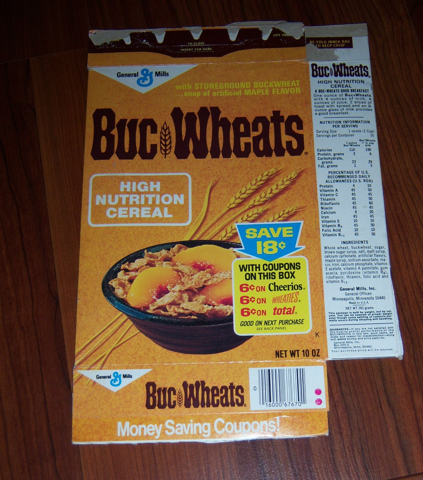 buc wheats cereal that