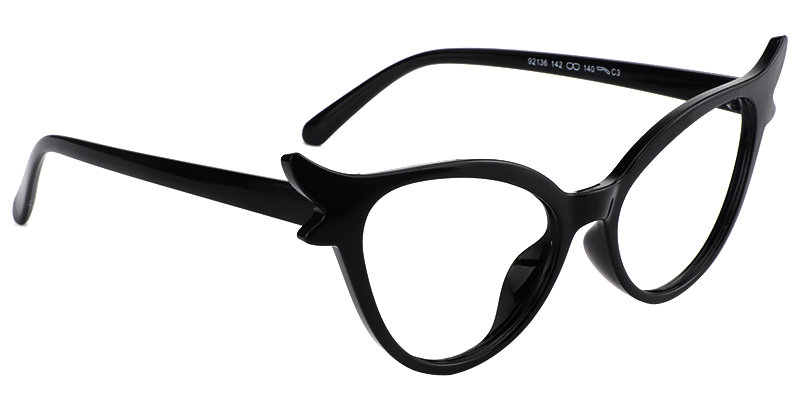 ec3911b3ec6 Judy Cat Eye Black Glasses - Cat Eye - shop by shape - eyeglasses