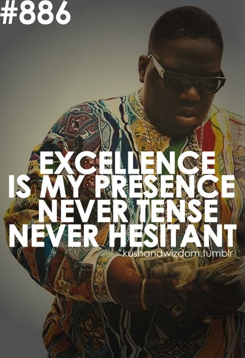 Biggie Smalls On Any Night I Performlike Mike Pick One In The Enchanting Biggie Quotes