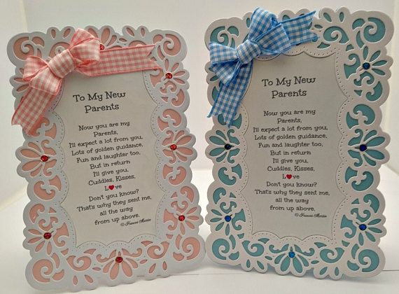 Baby girl or baby boy card to my new parents keepsake card with baby girl or baby boy card to my new parents by heartandsoul11 m4hsunfo