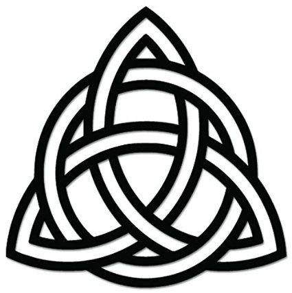 Amazon Triquetra Celtic Knot Pagan Sign Symbol Vinyl Decal