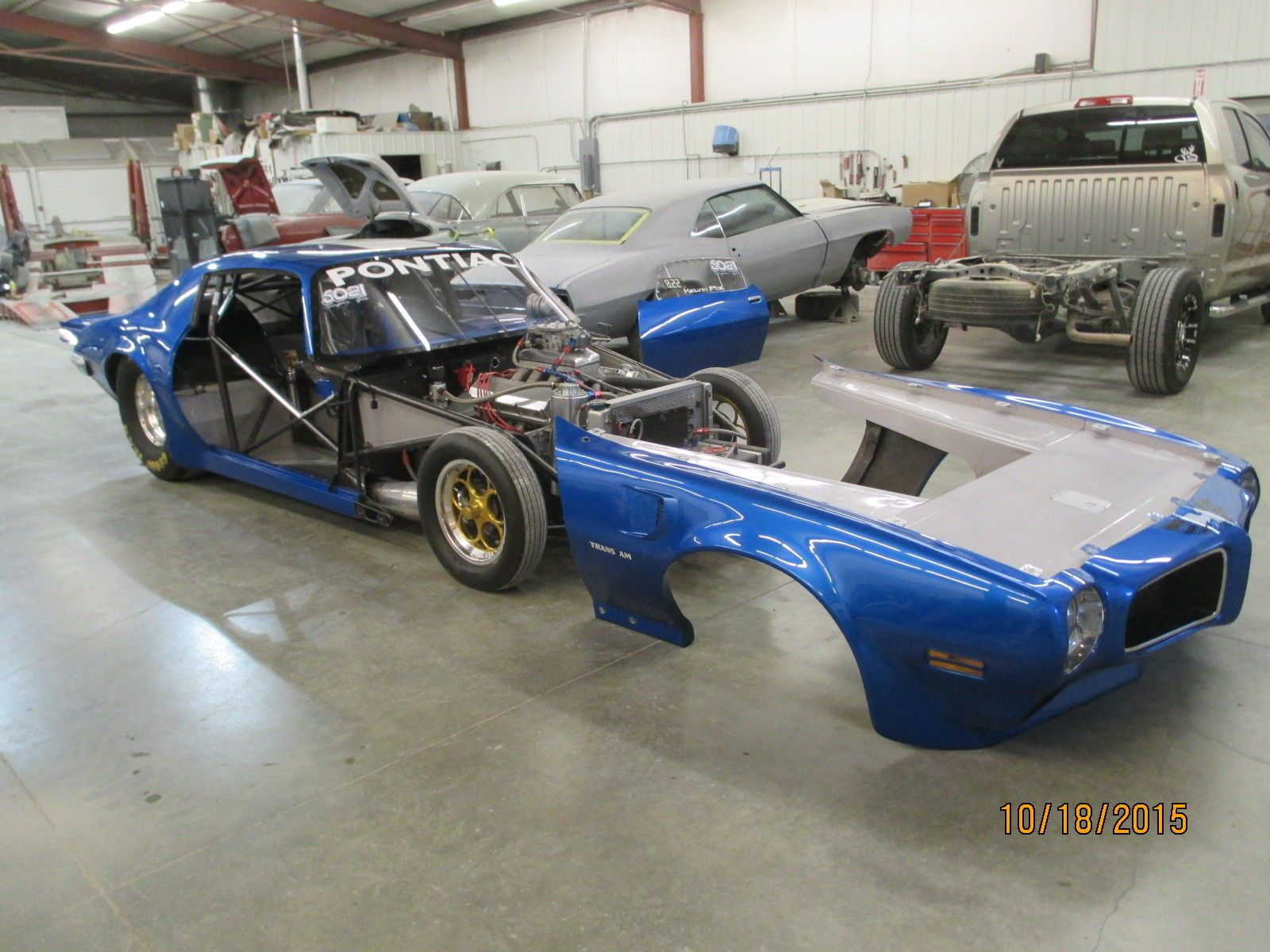 1970 Pontiac Trans Am Tube Chassis Drag Car 21 | Camaro ...