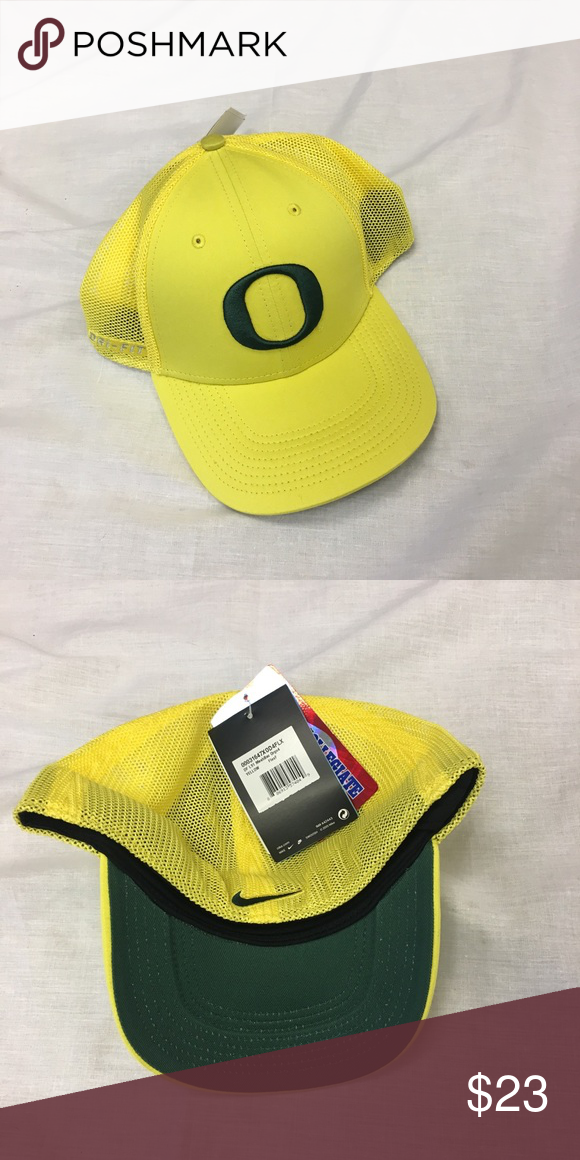 8685ff0de Oregon Ducks Nike Dri-Fit Mesh Back Flex-Fit Hat Oregon Ducks Nike Dri-Fit  L91 Meshback Flex-Fit Hat. Save money by bundling with other items in my  store.