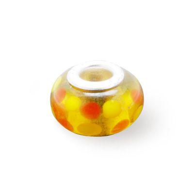Pandora Spots Glass Charm Beads Colored