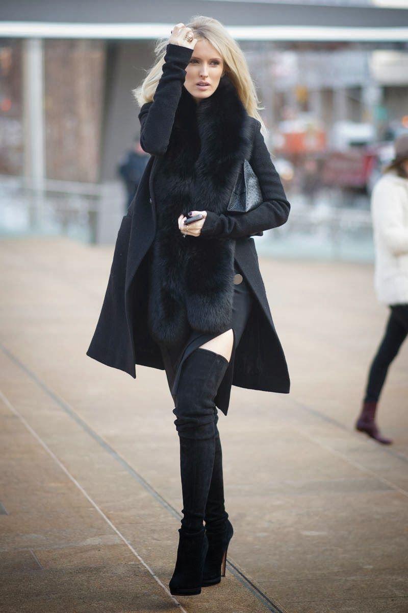 new york fashion week street style 2014 - kate davidson hudson ...