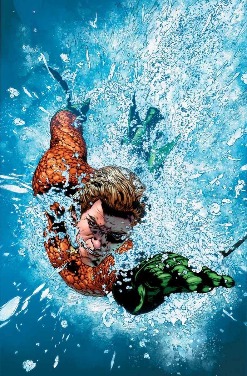 Dan Abnett Hits The Waves For Aquaman, Mera, And A Surprising Series Co
