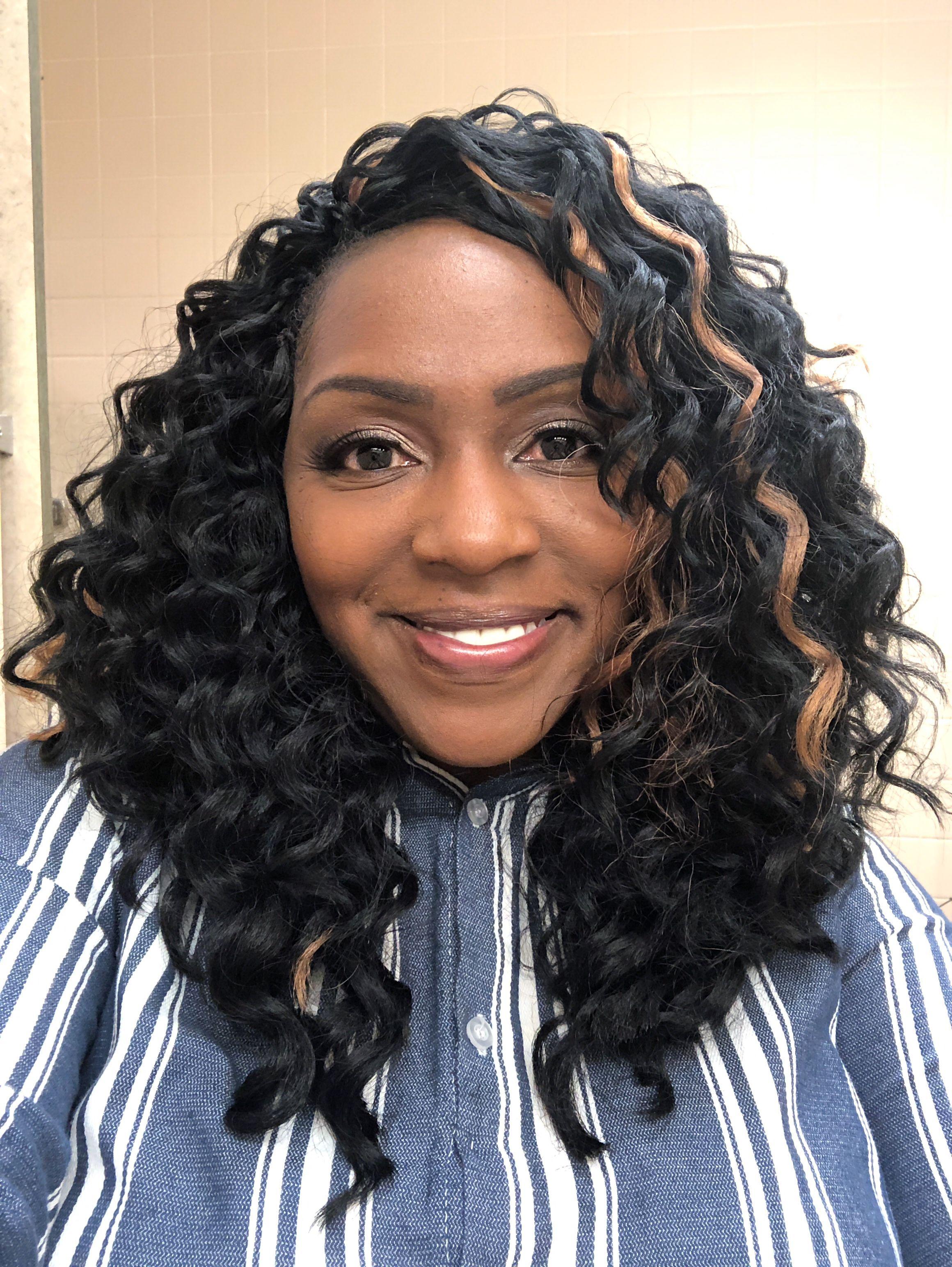 Janet Collection Perm Peruvian Deep Wave Crochet Hair I Love