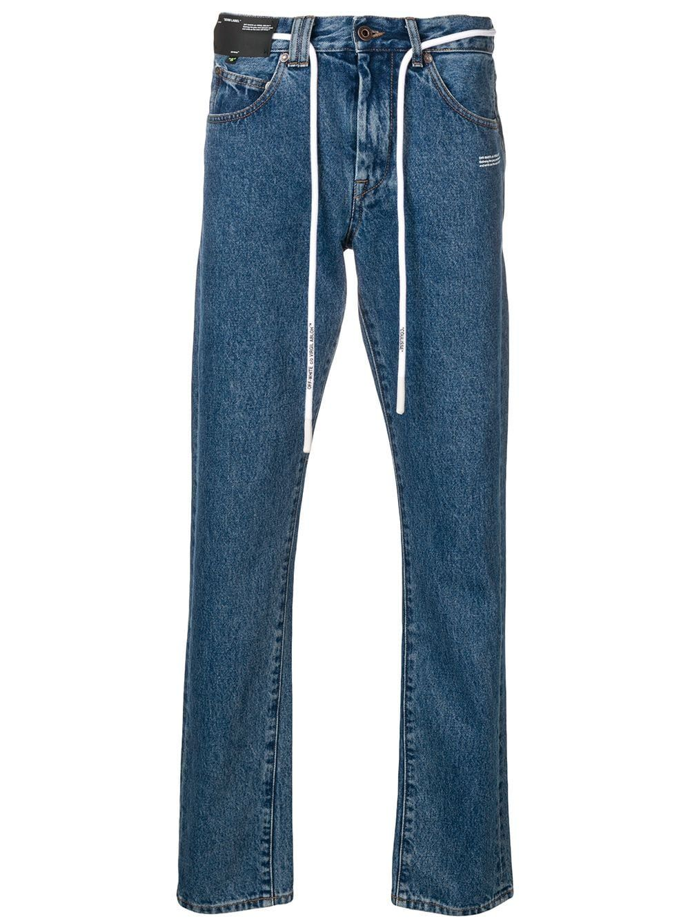 a3d31e0f Off-White slim-fit jeans - Blue in 2019 | Products | Off white ...