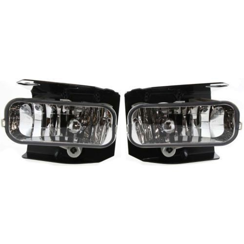1999 2004 Ford F 150 Pickup Crystal Clear Fog Lamp Assembly Set Of 2 Fog Lamps Ford F150 Ford Expedition