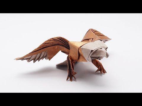 ORIGAMI AMERICAN EAGLE (Jo Nakashima) - YouTube | Origami ... - photo#40