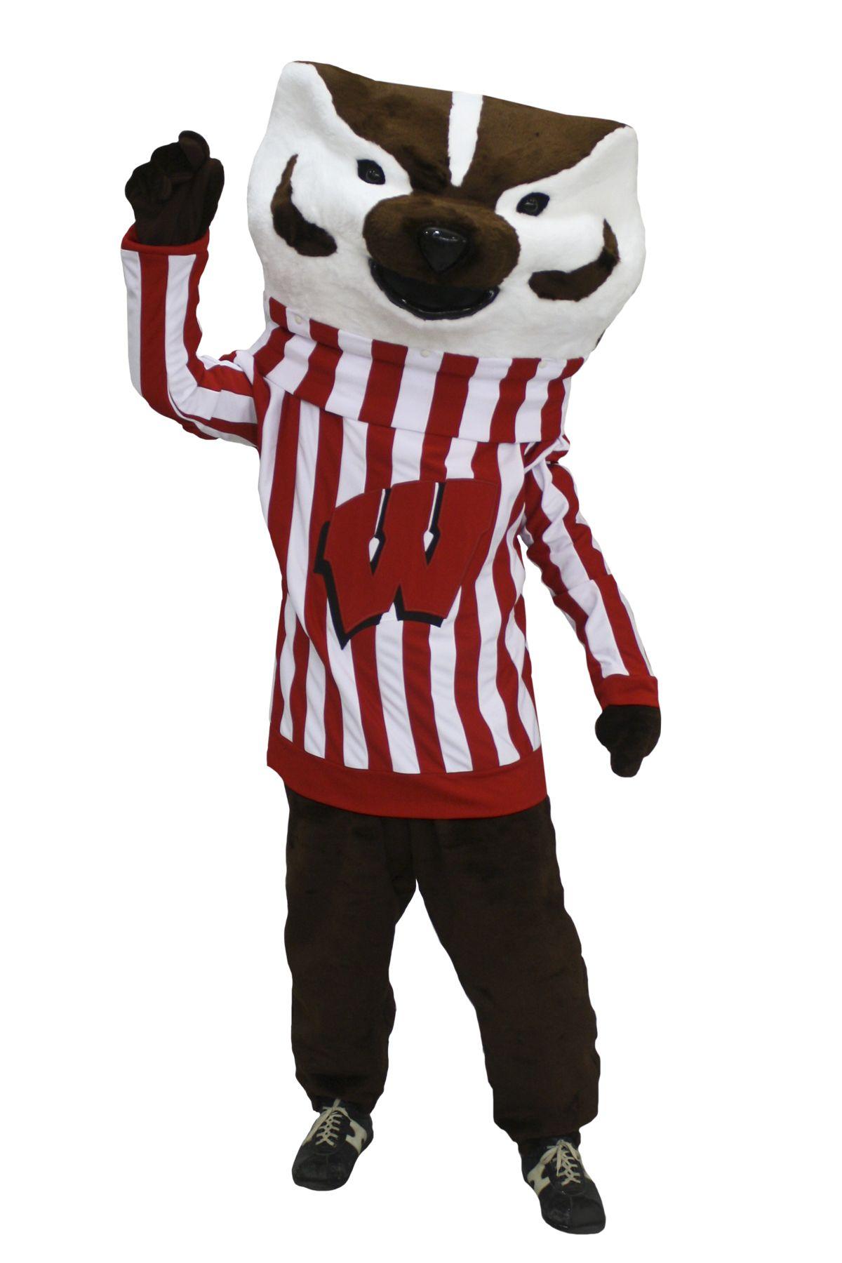 Bucky Badger mascot costume Mascot costumes, Costumes