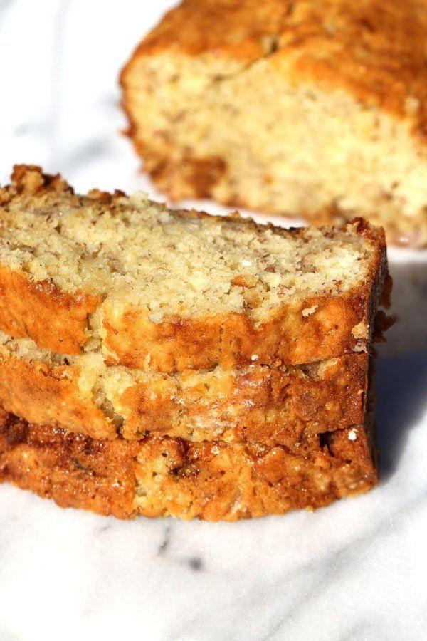 Banana Bread With Sour Cream Recipe Sour Cream Recipes Banana Bread Recipe Moist Super Moist Banana Bread