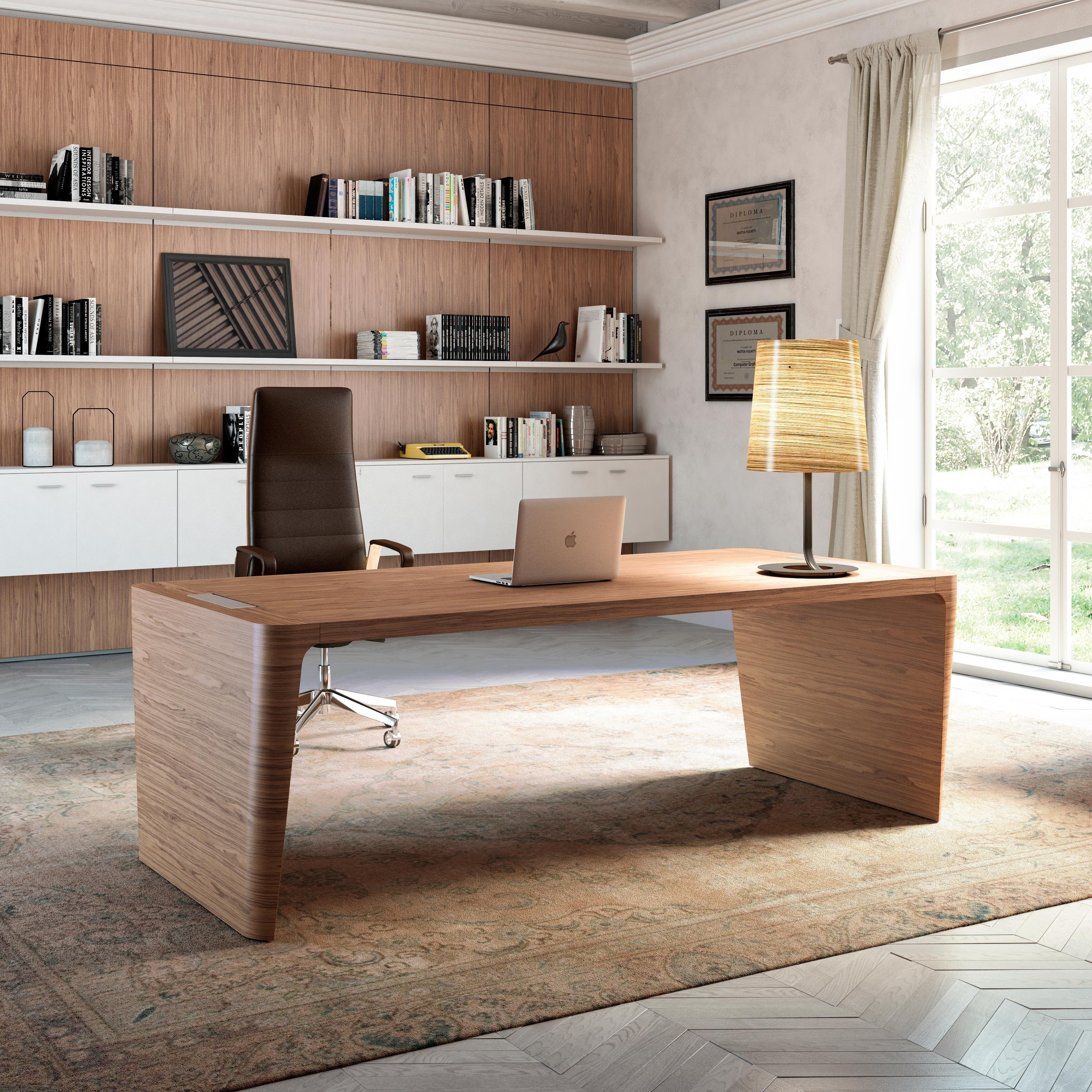 X10 Office Desk Quadrifoglio Italy Executive Office Desk Home Office Design Office Desk