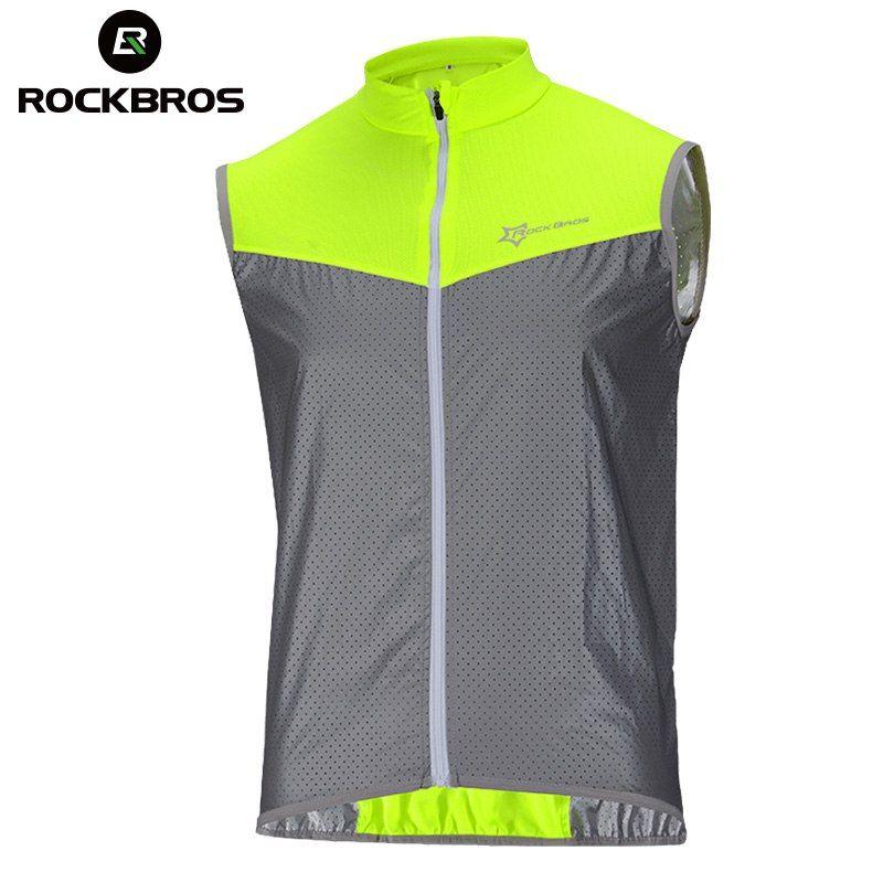 Mens Cycling Jerseys Windproof Half Zipper Sport Coat Reflective Breathable Tops