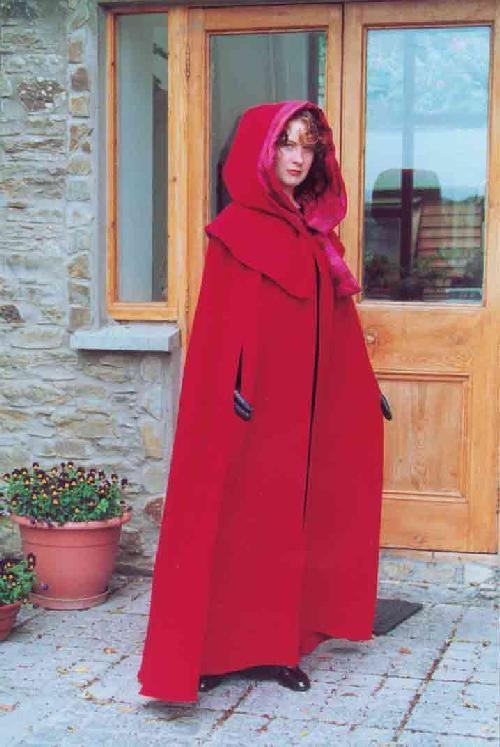 Cloaks of Ireland.com - The Galway Cloak and Hood - Item # 209